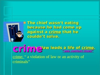Encyclopedia Brown Vocabulary Power Point Reading Street 2011