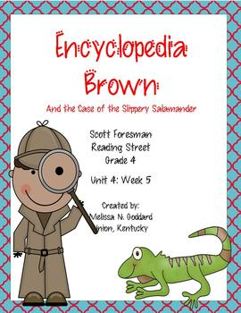 Encyclopedia Brown and the Case of the Missing Salamander : Reading Street