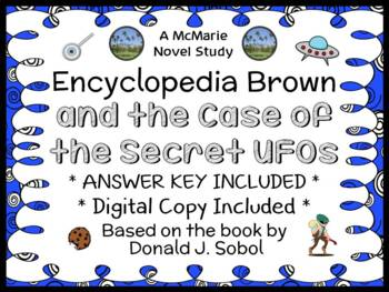 Encyclopedia Brown and the Case of the Secret UFOs (Donald J. Sobol) Novel Study