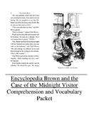 Encyclopedia Brown & the Case of the Midnight Visitor Guided Reading Unit Lev P