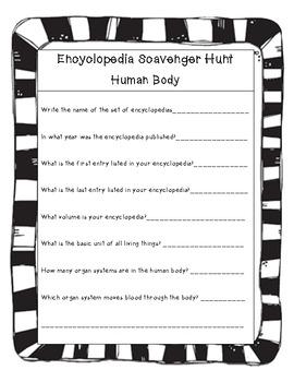 Encyclopedia Scavenger Hunts