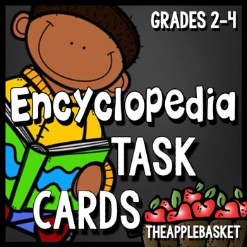 Encyclopedia Task Cards for Grades 2-4