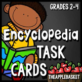 Encyclopedia Task Cards for Grades 2-4