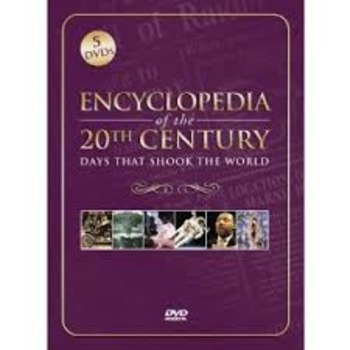 Encyclopedia of the 20th Century 1910-1919 fill-in-the-blank viewing guide