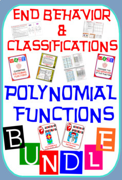 End Behavior & Classifications of Polynomial Functions 50%