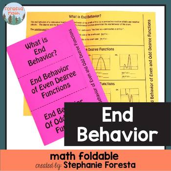 End Behavior Foldable