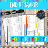 End Behavior From a Graph Color By Number; Algebra 2