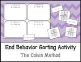 End Behavior Sorting Activity