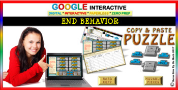 End Behavior of Polynomial Functions (Google Interactive & Hard Copy)