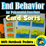 End Behavior of Polynomial Functions: Sorting Activities