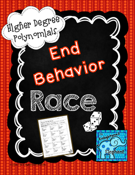 End Behavior of Polynomial Graphs Race Game