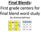 Final Blends - A First Grade Center Pack