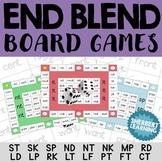 End Blends Board Games - st sk sp nd nt nk mp rd ld lp rk