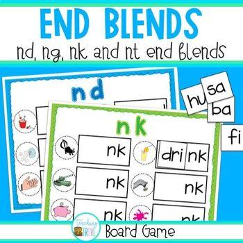 End Blends - game