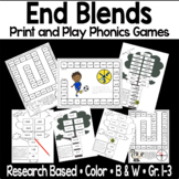 End Blends- nd, st, nt, nk