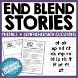 End / Final Blends Stories -  st sk sp nd nt nk mp rd ld lp rk lt lf pt ft ct!