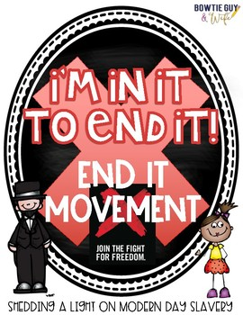 Modern Day Slavery (Kid Friendly) Mini Book