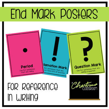 End Mark Posters