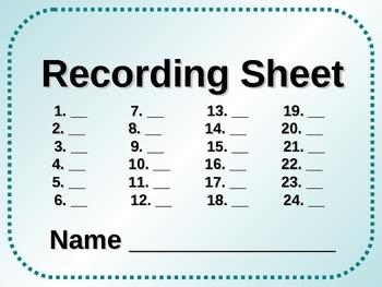 End Mark Punctuation Task Card Set