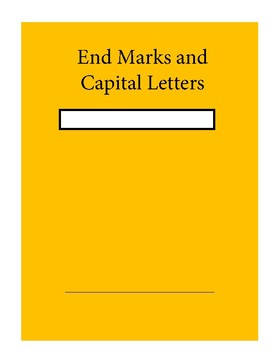 End Marks and Capitals and Commas Daily Grammar Units Combined