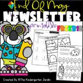 End Of May Newsletter & Printable| Amanda Emily