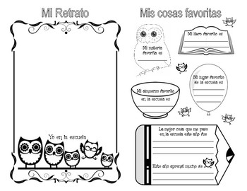End Of School Memory Booklet - Spanish