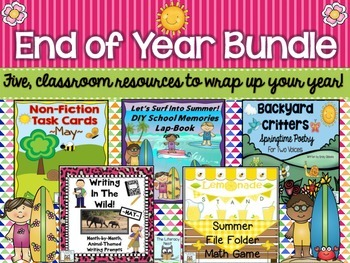 End  Of The Year Centers and Activities