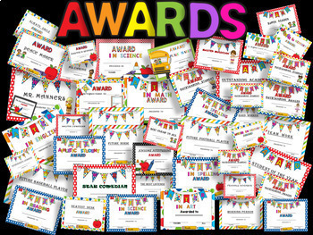 BUNDLE - End Of The Year  Awards (126) - IF YOU BUY SEPARATE IS $5.49 EACH SET.