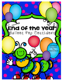 End Of The Year Balloon Pop Countdown