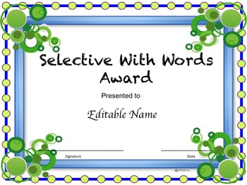 End Of The Year Awards, Super Pack ( Editable)