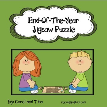 End-Of-The-Year Jigsaw Puzzle