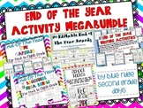 End Of The Year Megabundle (Writing, Activities, Games, and Awards) 300 + pages