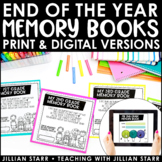 Distance Learning End Of The Year Memory Book | Digital & Paper