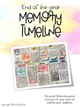 End Of The Year Memory Timeline