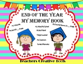 End Of The Year  My Memory Book