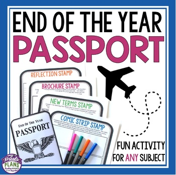 END OF THE YEAR ACTIVITY PASSPORT STATIONS