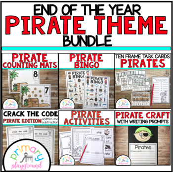 End Of The Year Pirate Theme Bundle