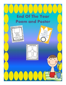End Of The Year Poem and Poster
