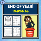 End Of The Year Printable Package