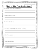 End Of The Year Reflections [Teacher Feedback]