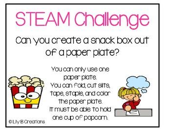 STEAM Challenge - Snack Box