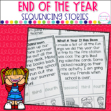 End Of The Year  Sequencing Stories