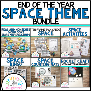 End Of The Year Space Theme Bundle