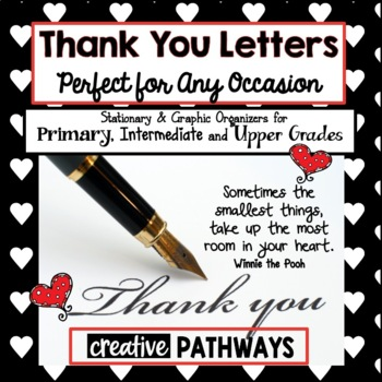 Thank You Notes, End of the Year, Teacher Appreciation, Thank You Letters