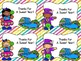 End Of The Year Treat Tags -Dollar Deal