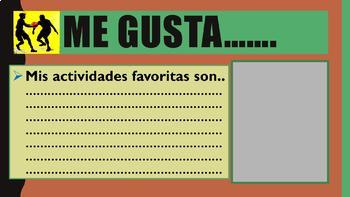 End Of Year-ALL ABOUT ME IN SPANISH- PowerPoint-- SPANISH I