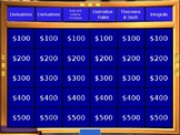 End Of Year AP Calc Review Jeopardy