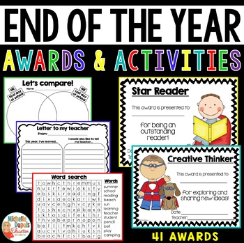 End Of The Year Activities and Awards