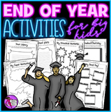End of the Year Activities for Teens