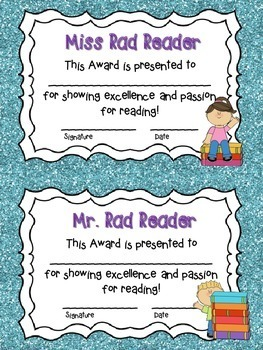 End Of Year Awards: K-6